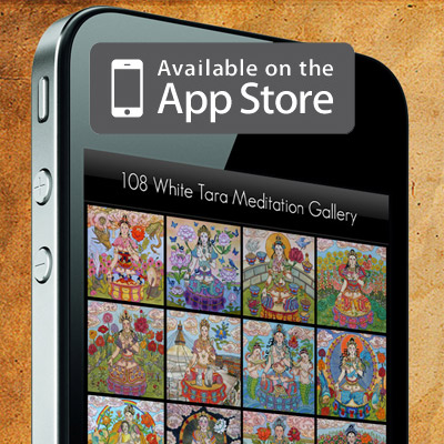 108 White Tara Buddhist Meditation App