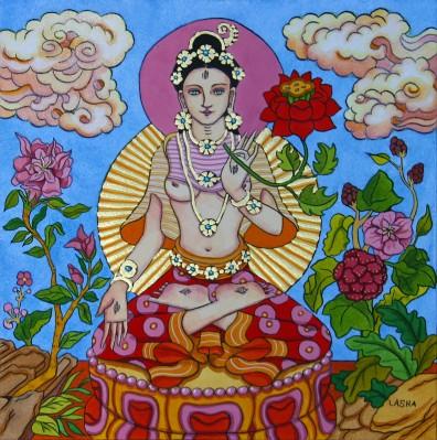 White Tara with Golden Light